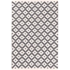 Samode Graphite Ivory Indoor/Outdoor Area Rug