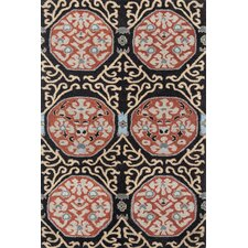 China Medallion Dimensional Neutral Rug