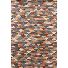 Metropolitan Triangles Rug