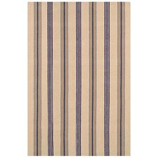 <strong>Dash and Albert Rugs</strong> Woven Nimes Ticking Rug