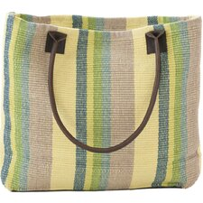 <strong>Dash and Albert Rugs</strong> Woven Cotton Tote Bag