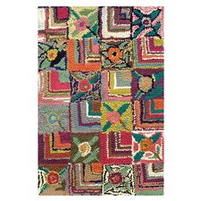 Hooked Gypsy Rose Rug