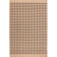Tatami Kraft Paper Brown/Black Area Rug