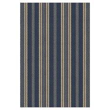 Woven Otis Navy Indoor/Outdoor Rug