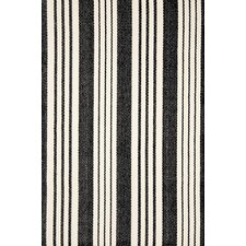 <strong>Dash and Albert Rugs</strong> Woven Birmingham Black Rug