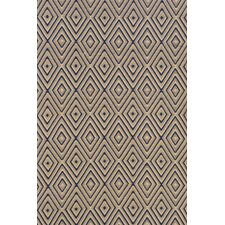 Woven Diamond Brown/Khaki Rug