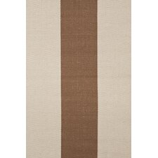 <strong>Dash and Albert Rugs</strong> Woven Yacht Stripe Stone Stripe Rug
