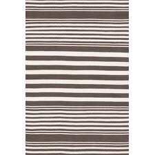 Beckham Indoor/Outdoor Charcoal Striped Rug
