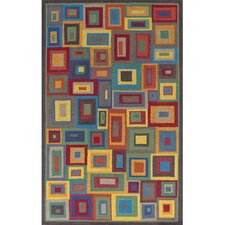 Box in Box Geometric Rug