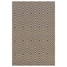 <strong>Dash and Albert Rugs</strong> Woven Diamond Brown/Khaki Rug