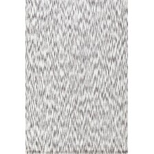 Ikat Grey Chenille Rug