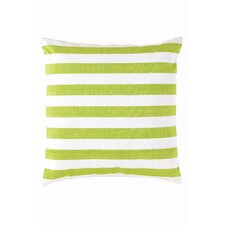 <strong>Dash and Albert Rugs</strong> Fresh American Trimaran Stripe Polypropylene Pillow