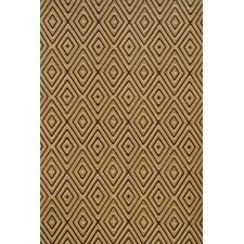 Woven Diamond Brown/Khaki Indoor/Outdoor Rug