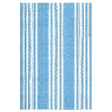 <strong>Dash and Albert Rugs</strong> Woven Sail Blue Stripe Rug