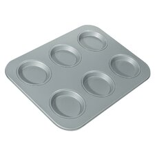 <strong>Fox Run Craftsmen</strong> Non-Stick 6 Cup Large Shallow Muffin Pan