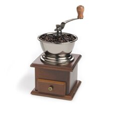 Classic Hand-Crank Manual Coffee Grinder