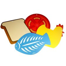 Flexible Chopping Boards (Set of 4)