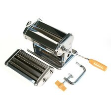 <strong>Fox Run Craftsmen</strong> Steel Pasta Machine in Chrome