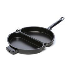 "18"" Non-Stick Omelette Pan with Lid"