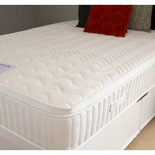 Clima Smart Memory Foam Pocket Sprung 1000 Firm Mattress with Stretch Cover