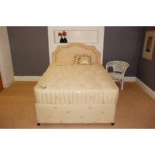 Regency Open Coil Sprung Extra Firm Mattress with Damask Cover