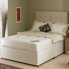 Nancy Quilted Open Coil Sprung Mattress with Damask Cover