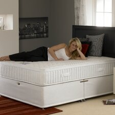 <strong>Deluxe beds</strong> Clima Smart Memory Foam Pocket Sprung 1000 Firm Mattress with Stretch Cover