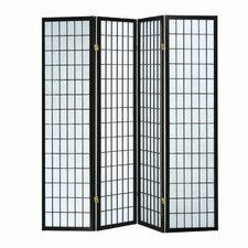 "<strong>Hazelwood Home</strong> 70"" x 70"" Sonji Screen 4 Panel Room Divider"