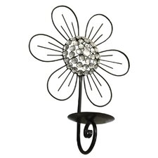 Floral Metal Sconce
