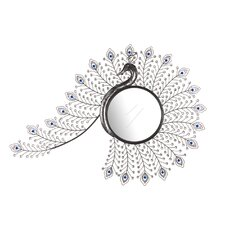 Peacock Inspired Mirror