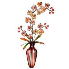 Floral Themed Vase Wall Décor