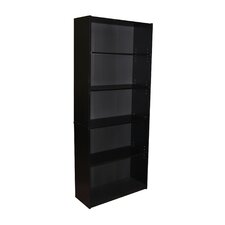 Five Tier Bookcase in Black