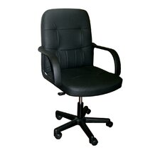 <strong>Hazelwood Home</strong> High-Back Office Chair with Arms