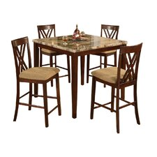 Counter Height 5 Piece Dinette Set