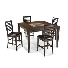 <strong>Imagio Home by Intercon</strong> Kashi Pub Table with Optional Stools