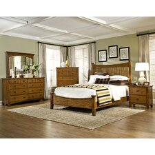 Pasilla Panel Bedroom Collection