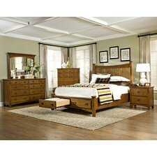 Pasilla Storage Panel Bedroom Collection