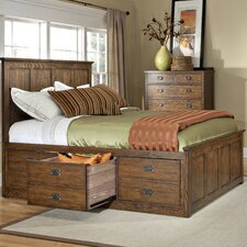 Oakhurst 3 Drawer Storage Panel Bed