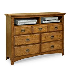 <strong>Imagio Home by Intercon</strong> Pasilla 7 Drawer Media Chest