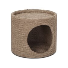 "11"" One Story Dura Scratch Cat Condo"