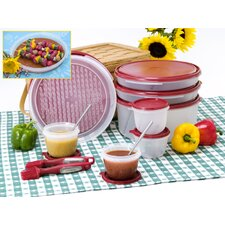 <strong>Fresh Keeper</strong> 18 Piece Marinating Grilling Deluxe Set