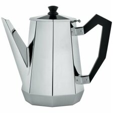 Ottagonale Coffee Pot in Mirror Polished