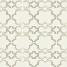 Handcrafted Acorn Gate Geometric Wallpaper