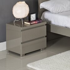 Puro 2 Drawer Bedside Table