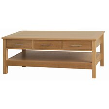 Willowdale Occasional Coffee Table with Three Drawers