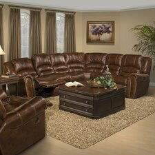 Motion Neptune Leather Reclining Sectional