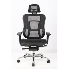 Aztec Contoured High-Back Mesh Executive Chair