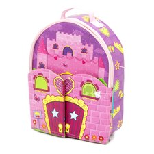 <strong>ZipBin</strong> Doll House Back Pack PlayPack