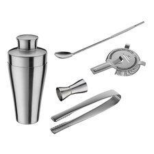 Hampton 5 Piece Bar Shaker Set