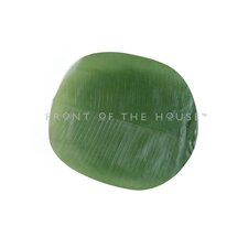 <strong>Front Of The House</strong> Philodendron Banana Leaf Coaster